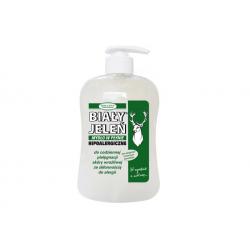 BIAŁY JELEŃ Mydło w płynie z dozownikiem 500 ml