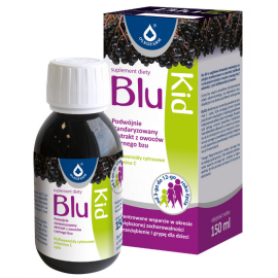 Blu Kid sok z owoców czarnego bzu płyn 150 ml