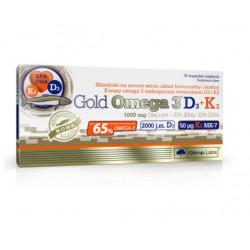 OLIMP Gold Omega 3 D3+K2 x 30 kaps.