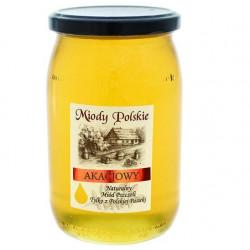 Miód akacjowy Miody Polskie 950 g