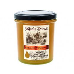 Miód wielokwiatowy faceliowy Miody Polskie 400 g