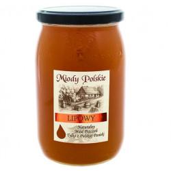 Miód lipowy Miody Polskie 950 g