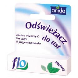 Anida, odświeżacz do ust Flo, o smaku miętowym, 5 ml