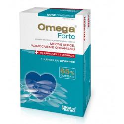 OmegaForte 65% omega3 x 60 kaps.