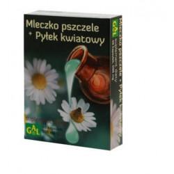 GAL Mleczko pszczele +pyłek kwiatowy 0,596g x 48 kaps.