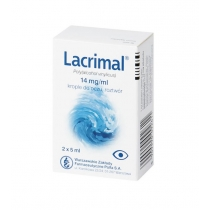 Lacrimal krople do oczu  10ml