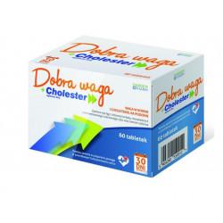 Dobra Waga + Cholester  60 tabletek