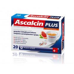 Ascalcin Plus x 20 szaszetek grejfrutowych