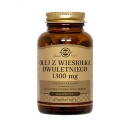 SOLGAR Olej z Wiesiołka Dwuletniego 1300 mg  30 kapsułek