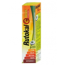 Rutokal C Plus 20 tabletek musujących