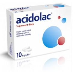 Acidolac x 10 kaps.