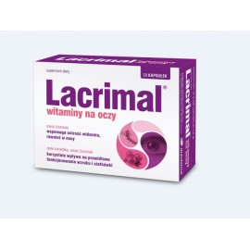 Lacrimal witaminy na oczy 0,6g x 30 kaps.