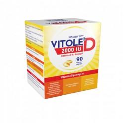 Vitole D 2000 IU x 90 kaps. miękkich