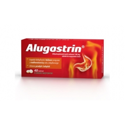 Alugastrin 0,34g x 40 tabletki do rozgryzania i żucia