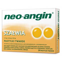 Neo-Angin Szałwia x 24 pastyl.