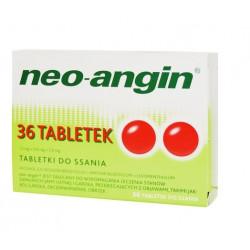 Neo-Angin z cukrem x 36 pastyl.