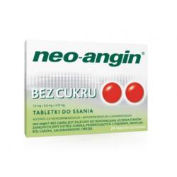 Neo-Angin bez cukru x 24 pastyl.