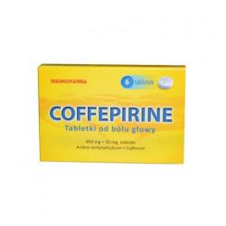 Coffepirine Tabletki od bólu głowy x 6 tabl.