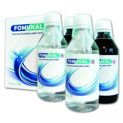FOMUKAL Płyn do płukania jamy ustnej płyn 1 zestaw (2 butelki+2 butelki)