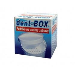 DentBox pudełko na protezy zębowe 1 szt