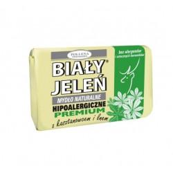 BIAŁY JELEŃ Hipoalergiczne mydło z ekstraktem z kasztanowca i lnem 100g