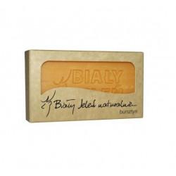 BIAŁY JELEŃ Hipoalergiczne mydło naturalne z bursztynem 100 g