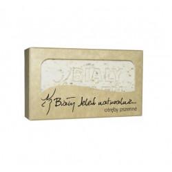 BIAŁY JELEŃ Hipoalergiczne mydło naturalne z otrębami pszennymi 100g