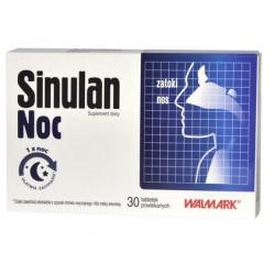 Sinulan Noc  30 tabletek powlekanych