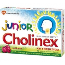 Cholinex Junior x 16pastyl.