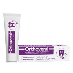 ORTHOVERAL specjalistyczny żel do mycia zębów miętowy 75ml