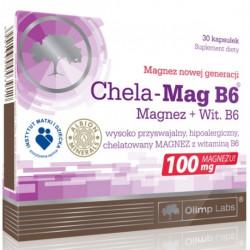 Olimp Chela-Mag B6 Magnez + Wit. B6 x 30 kapsułek