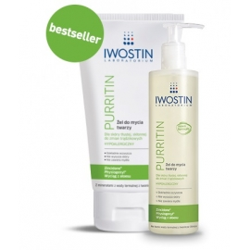 IWOSTIN PURRITIN Żel do mycia twarzy hypoalergiczny 150 ml