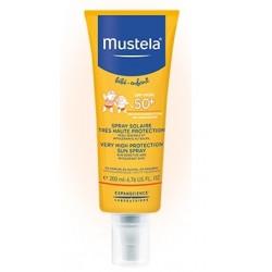 Mustela Spray przeciwsłoneczny SPF 50+ Do twarzy i ciała dla niemowląt i dzieci 200ml