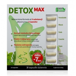 Noble Health Detox Max 21 kapsułek