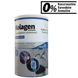 Noble Health Kolagen + glukozamina i witamina C w proszku 100g