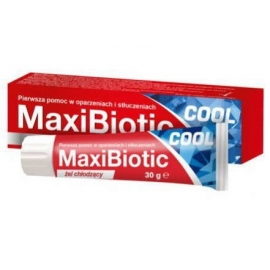 MaxiBiotic Cool żel 30 g 30.04.2019 r.