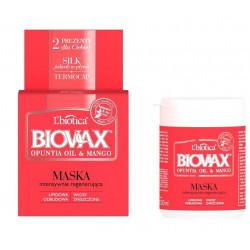 L'biotica BIOVAX Maseczka Intensywnie Regenerująca OPUNTIA OIL & MANGO 250 ml