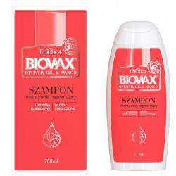 L'biotica BIOVAX Szampon Intensywna Regeneracja OPUNTIA OIL & MANGO 200ml