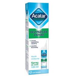 Acatar Hipertonic spray do nosa 100 ml
