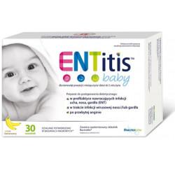 ENTitis Baby proszek smak bananowy x 30 sasz.