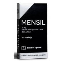 Mensil 25 mg x 2 tabl.