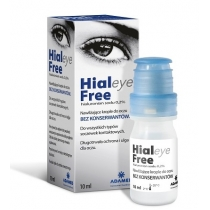 Hialeye Free 0,2% krople do oczu 10 ml