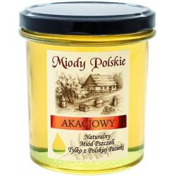 Miód akacjowy Miody Polskie 250g