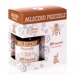 Mleczko pszczele Miody Polskie 30 kapsułek