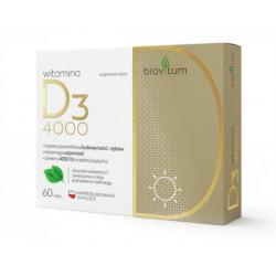 Biovitum witamina D3 4000 x 60 kaps.