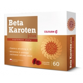 Beta Karoten Plus Colfarm 60 kapsułek