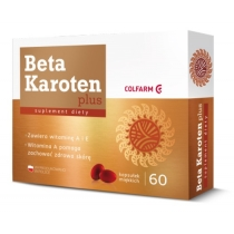 Beta Karoten Plus Colfarm x 60 kaps.