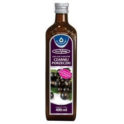 Sok z owoców czarnej porzeczki 490 ml