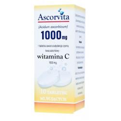 Ascorvita witamina C 1000  10 tabletek musujących