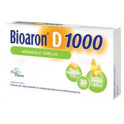 Bioaron witamina D 1000 j.m. x 30 kapsułek